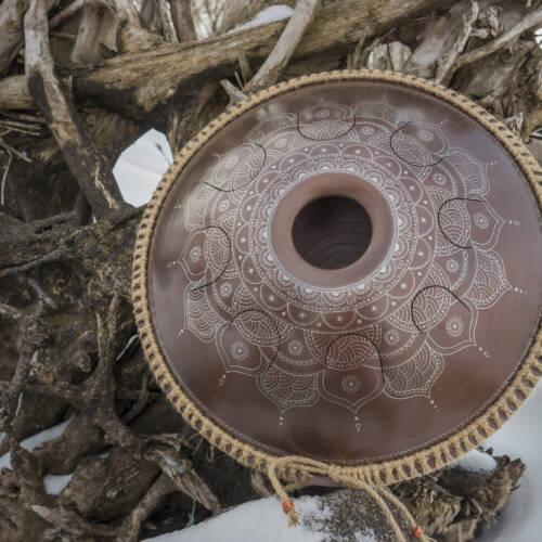 GUBAREV drum Standart Frozen Flower